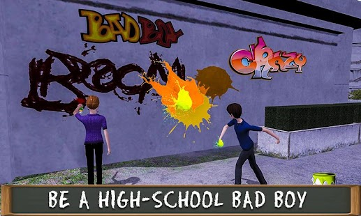 Gangster of High School Student– Bullys Game Fight - náhled