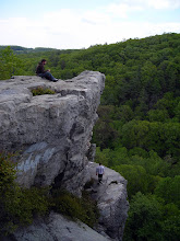 Photo: King and Queen Seat in Rocks State Park