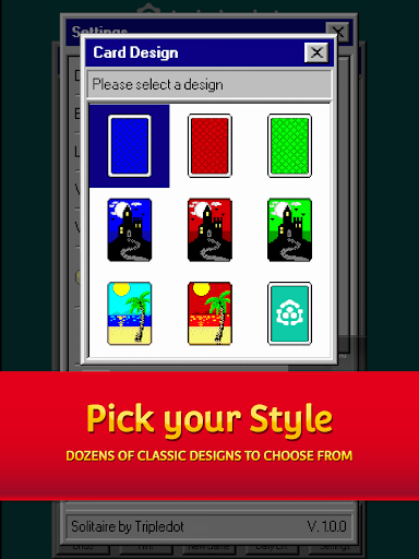 Solitaire 95 - The classic Solitaire card game filehippodl screenshot 10