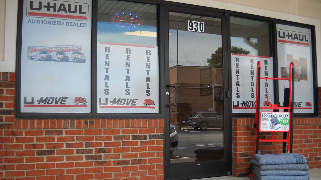 Umove Uhaul Truck Rental Agency In Fayetteville