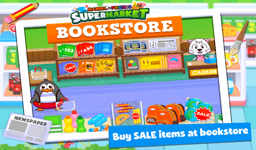 Marbel Supermarket Kids Games apktram screenshots 13
