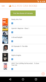 Unlimited AudioBooks- screenshot thumbnail