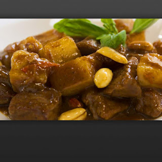 Beef and Potato Thai Massaman Curry.