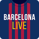 Barcelona Live — Unofficial app for FC Barca Fans Icon