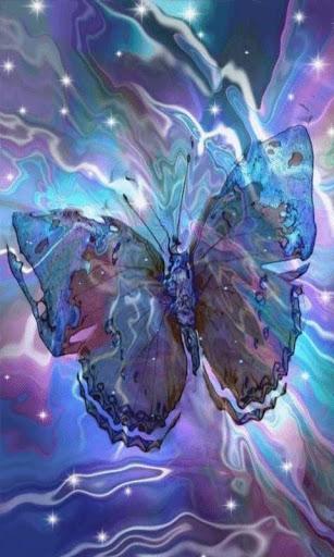Twinkling Tye Dye Butterfly LW