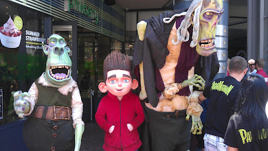 Photo: Gaslamp - Characters from ParaNorman