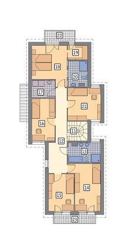 Fit I - WM27 - Rzut piętra