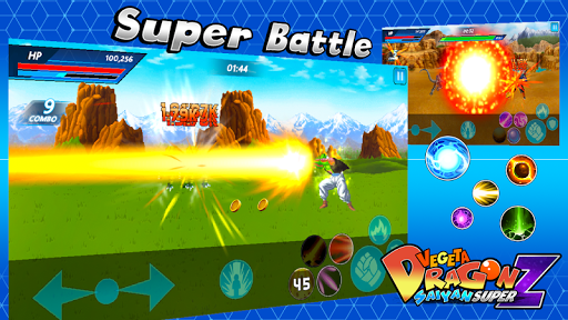 Vegeta Dragon Saiyan Super Z 1.1.0 screenshots 7