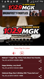 102.9 WMGK- screenshot thumbnail