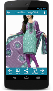 Latest Kurti Design 2016 screenshot 4