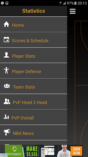 Advanced Stats App for NBA 1.1.1 screenshots 2