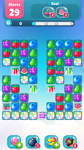 Code Triche Fruity Garden – Fruit Match 3 Sliding Puzzle apk mod screenshots 5