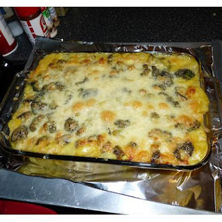 Broccoli Chicken & Cheese Casserole.