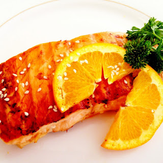 5 Ingredient Orange Ginger Salmon