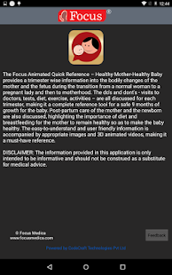 Healthy Mom Healthy Baby screenshot