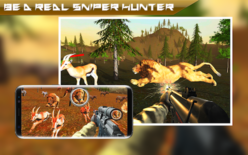 Wild Loin Hunting 2018 - Deer Survival Safari Game - náhled