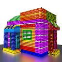 Magnet World 3D - Build by Number, Magnetic Balls