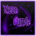 Neon Purple Style Go Launcher icon