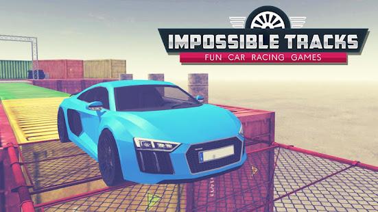 Impossible Tracks : Fun Car Racing Games MOD apk