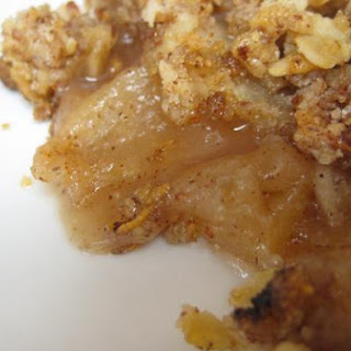 Apple and Almond Crisp