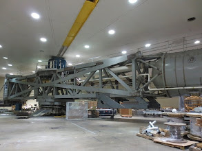 Photo: HUGE Centrifuge, almost end to end... but there's no way to back up and get the whole thing in one picture, LOL...