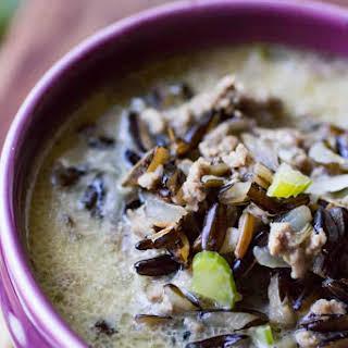 Wild Rice Hotdish Soup.