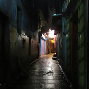 lanes of varanasi by Santosh Pandey - City,  Street & Park  Street Scenes
