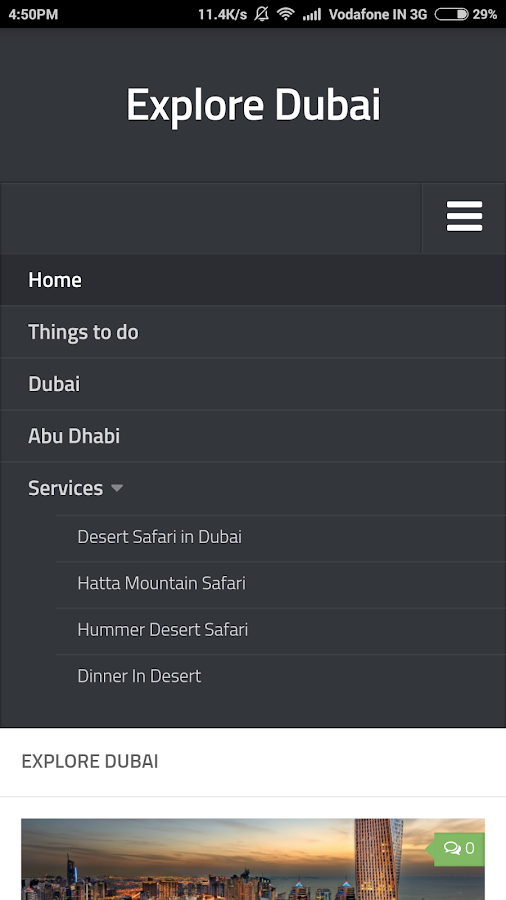 Desert Safari in Dubai- screenshot