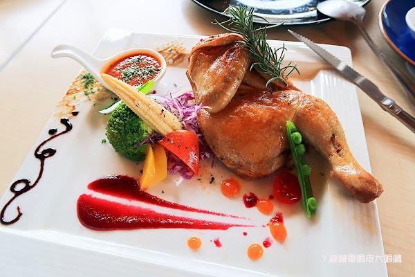 新埔普羅旺斯小木屋餐廳推出草莓干貝燉飯