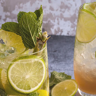 Lemongrass, Kaffir Lime and Ginger Mojito.