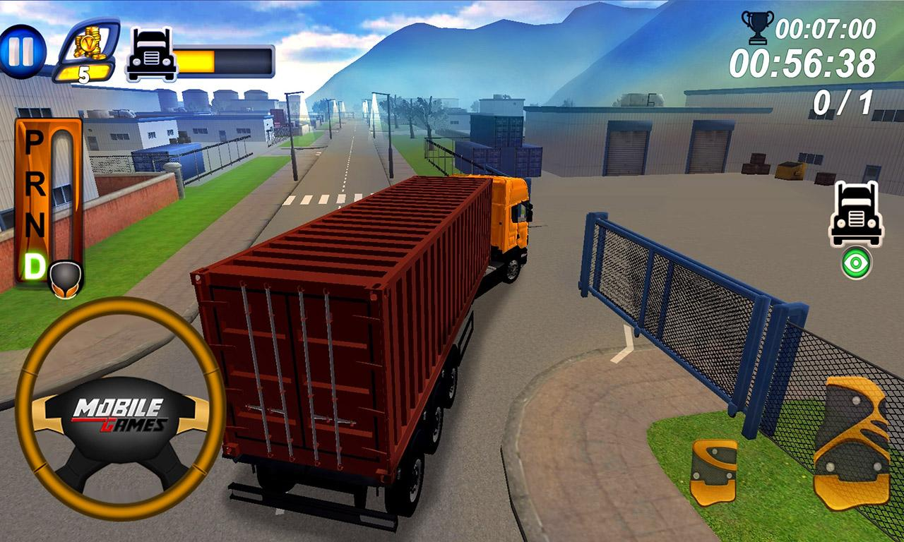 Truck parking simulator 2017 android apps on google play for Truck design app
