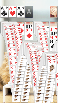 Solitaire Lovely Cats - screenshot