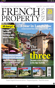 French Property News Magazine- screenshot thumbnail