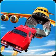 Jet Cars Stunts GT Racing Flying Car Racing Games
