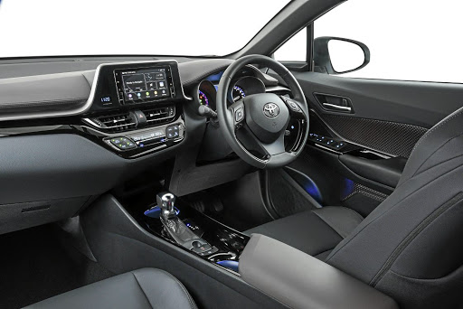 The C-HR Luxury gets more connectivity features including a new touchscreen infotainment system. Picture: MOTORPRESS
