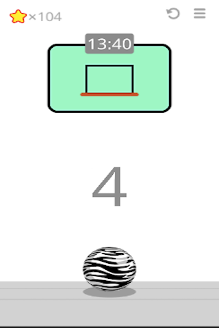 Basket Ball Game2d - screenshot