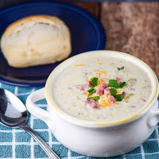 Leftover Ham and Potato Soup.