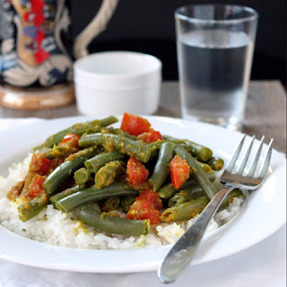 Indonesian Curried Green Beans.