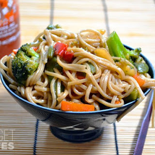 Vegetarian Teriyaki Noodles Recipes.