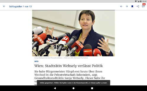 Die Presse- screenshot thumbnail