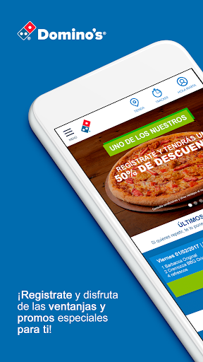 Dominos Pizza | Comida a Domicilio y Ofertas 3.1.10 screenshots 1