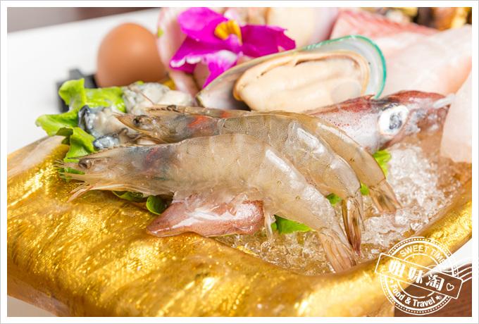 旗山錢源日式涮涮鍋大海陸鍋鮮蝦