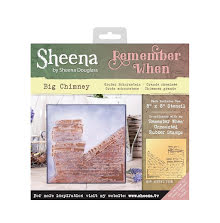 Sheena Douglass Remember When 8X8 Stencil - Big Chimney UTGÅENDE