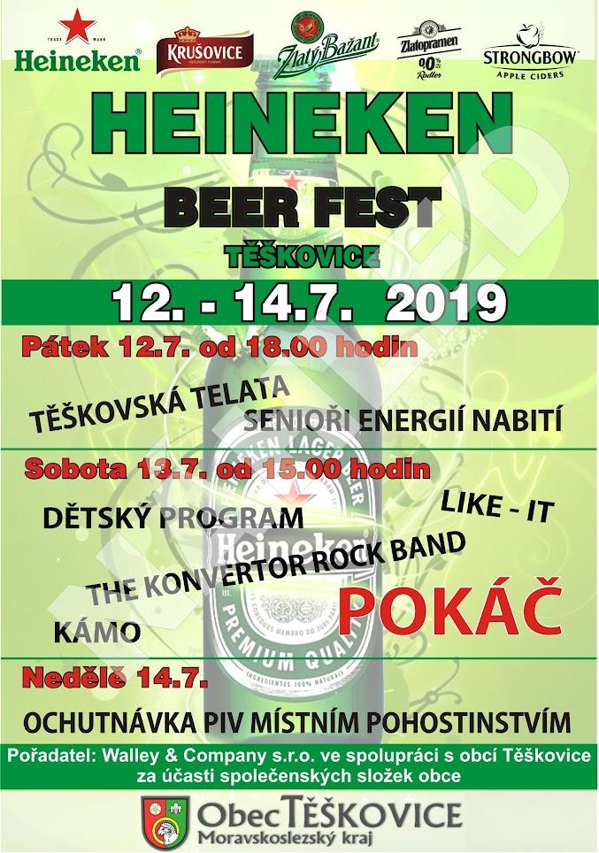 Heineken beer fest - Těškovice