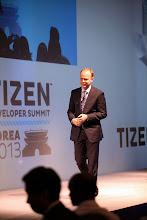 Photo: Mark Skarpness, Intel - Welcome Keynote