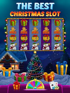 Happy Christmas Slot - Hot Las Vegas Casino Screenshot