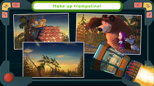 Masha and the Bear: We Come In Peace! apkmr screenshots 23