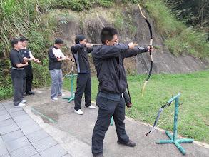 Photo: 練習射箭