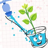 Happy Plant - Draw Lines to Glass make Happy icon