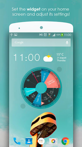 Sectograph. Planner & Time manager on clock widget 5.10.3 screenshots n 2